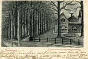 3528 Oosterbeek, Rijksstraatweg met laan naar Sonnenberg, 1900-1902
