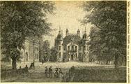214 Velp, Het fraaie landhuis Biljoen, ca. 1850