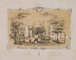 101-0009 Een cahier Gezichten van Arnhem, 1850-1870
