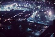 7128 Panorama Arnhem bij nacht, ca. 1965