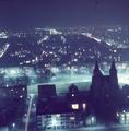 7138 Panorama Arnhem bij nacht, ca. 1965