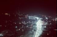 7155 Panorama Arnhem bij nacht, ca. 1980