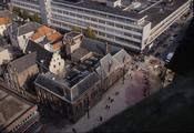 7156 Panorama Arnhem vanaf de Eusebiuskerk, ca. 1985