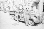 131 Arnhem verwoest, 1945