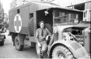 134 Arnhem verwoest, 1945
