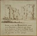 1228 Ruïne van het Slot Hulkesteyn bij Nijkerk, 1674-1737