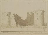1231 Ruïne van 't Slot Hulkesetijn op de Veluw bij Nikerk, 1600-1800
