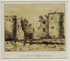 1742 Ruïne van het slot Hulkestein bij Nijkerk, 1854