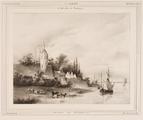 1983 Le Belvedère à Nijmègue - Gezigt te Nijmegen, 1837-1840