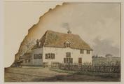 228 De Lange Schuur, boerderij van Hulkestein. Afgebroken in 1870, 1870