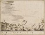2813 De Rijn Poort te Arnhem, op zij te zien, 1687-1727