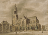 2876 Arnhem - Grote (oude) Markt, ca.1830- 1848