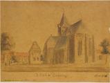 3736 De Kerk te Genderinge anno 1731, 1842-1897