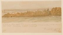 3793 Het acaciabosche tegenover Hulkesteyn, 1872