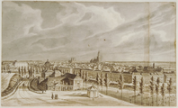 3893 Arnhem - Nieuwe Plein, ca. 1845