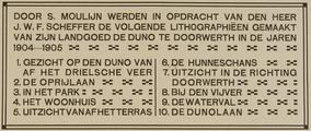 4054 De Duno bij Heveadorp, ca. 1900-1927