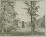 4055-0009 Achterzijde van het paleis (linkervleugel) - 1908, 1908