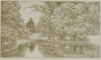 4055-0010 Het park - de Faam met het vijvertje - 1908, 1908