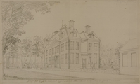 4186-0023c Gezicht op het huis de Nobelaar agter het dorp Etten, [1778]