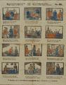 655 Kinderprent-centprent met afbeelding van Loevesteijn, het verblijf en de onstnapping van Hugo de Groot, 1800-1900