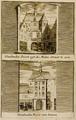 1505-III-137Arood-0029 Windmolen Poort uijt de Molen straat te zien - Windmolen Poort van binnen, 1738