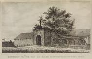 1505-S267-1897-0002 Zutphen- ruïne van de Oude Nieuwstadspoort-1890, 1897