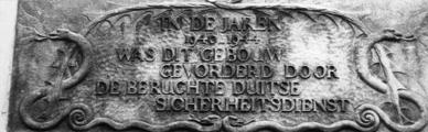2414 GEDENKTEKENS, 1945-1950