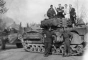 2584 VERWOESTINGEN, april 1945