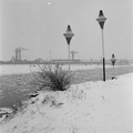 202 A.S.M. in de sneeuw, ca. 1960