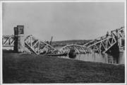 129 Spoorbrug Oosterbeek, mei 1940