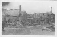 243 Kruispunt Kerkstraat - Dorpsstraat Renkum, 1945