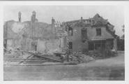 244 Kruispunt Kerkstraat - Dorpsstraat te Renkum , 1945