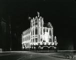 190 Duivelshuis, feestverlichting, 07-01-1937