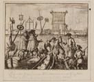 2196 Lijken der geëxecuteerde Wederdopers aan de Galg, buiten aan de Volwijk gehangen in den jare 1535, 1624