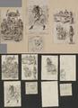 3618 Tekeningen en schetsen van Amsterdamse typen, 1848-ca. 1860