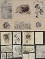 3619 Tekeningen en schetsen van Amsterdamse typen, 1863