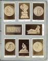 4324-0003 Madonna mit Christus und Johannes, Thorwaldsen , Bacchusknabe im Korbe n. Troschel , Die drei bildenden ...