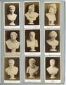 4324-0009 Augustus, Jugendlich , Apollo vom Belvedere, original Rom Antik , Ajax, original Rom, Antik , Niobe, original ...