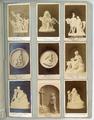 4324-0013 Laocoon, original Rom Antik , Amor mit Storch und Kalender, prof. Gradler , Fasteres Abschied, Micheli , ...