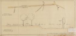 456 Utrechtseweg te Doorwerth, plan aanleg parallelweg, Maart 1931