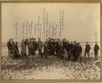 1145-0088 Groepsfoto tijdens de jacht, 1909