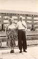 42-0002 Willem A.J.A. Wiedijk en Hendrika Böttcher, ca. 1950