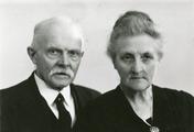55-0008 Adolf Lubbers (Dolf) en Henriette S.A.E. Hoek (Jet), ca. 1950